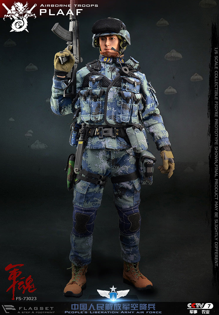 PLA Airborne Trooper - AF Type 07 Pixelated Backpack