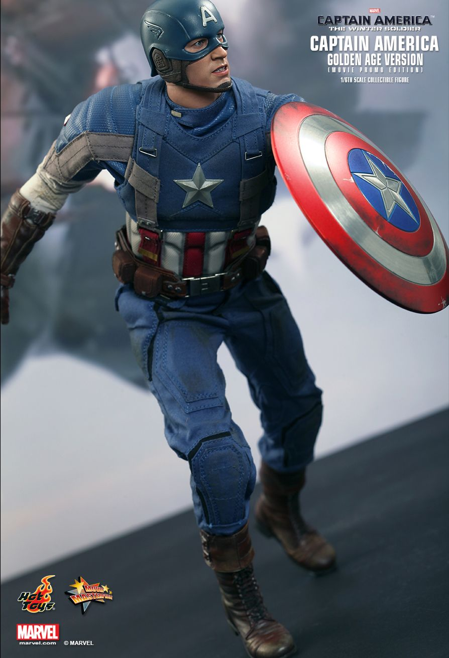 The Winter Soldier - Captain America - Base Figure Stand
