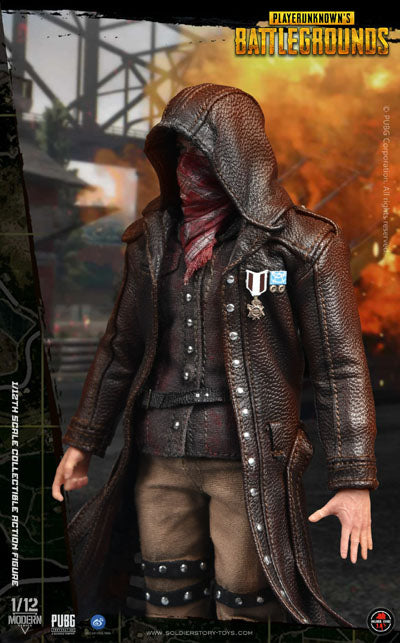 PREORDER - 1/12 - PUBG - Player Unknown w/Trench Coat Version - MINT IN BOX