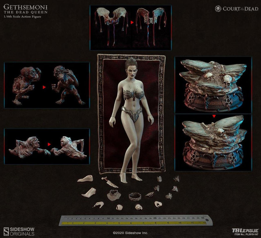 Court Of The Dead - Gethsemoni The Dead Queen - MINT IN BOX