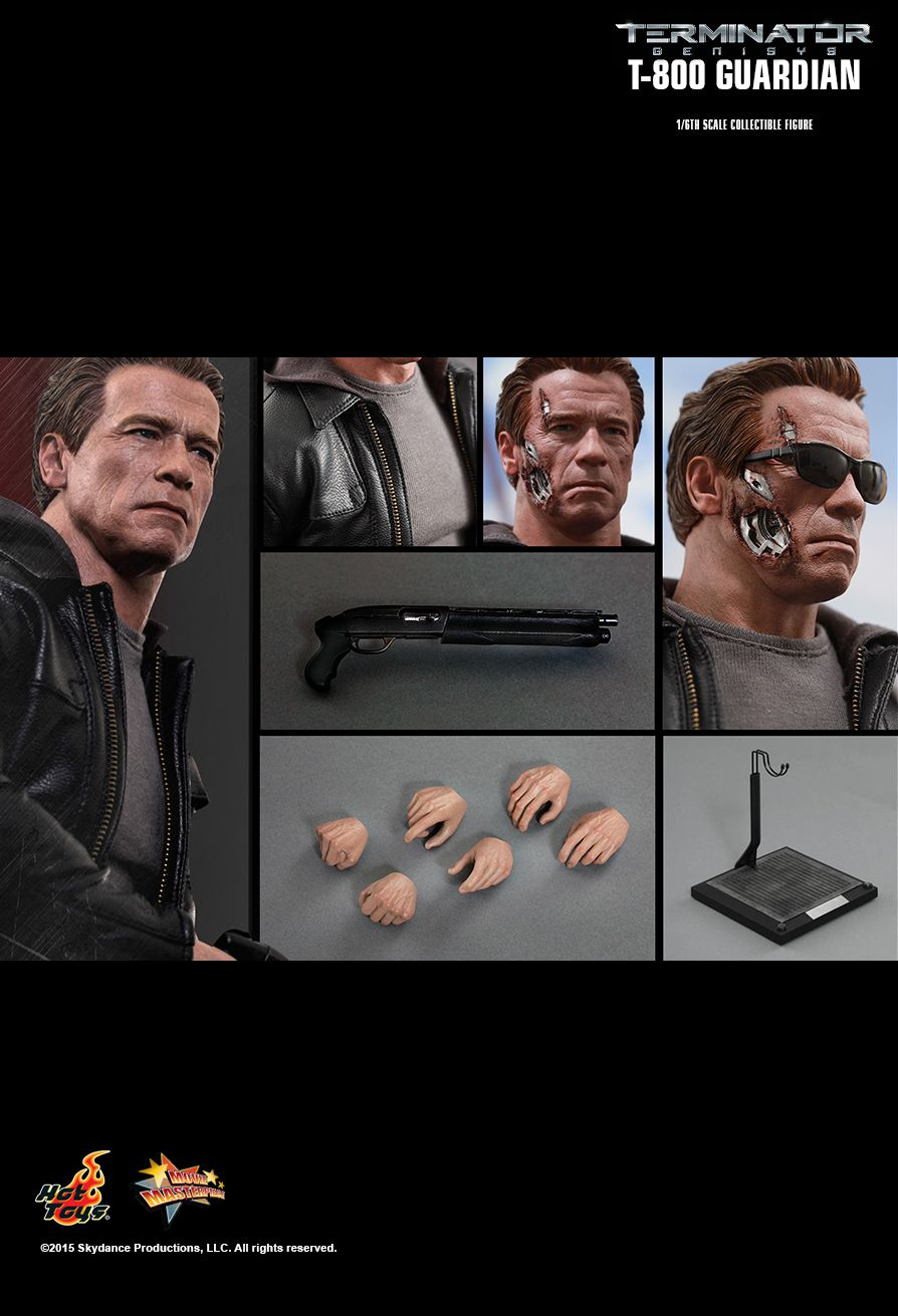 Terminator Genisys - Male Battle Damaged Head Sculpt