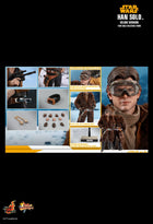 Star Wars - Han Solo - Brown Gloved Hand Set (Type 2)