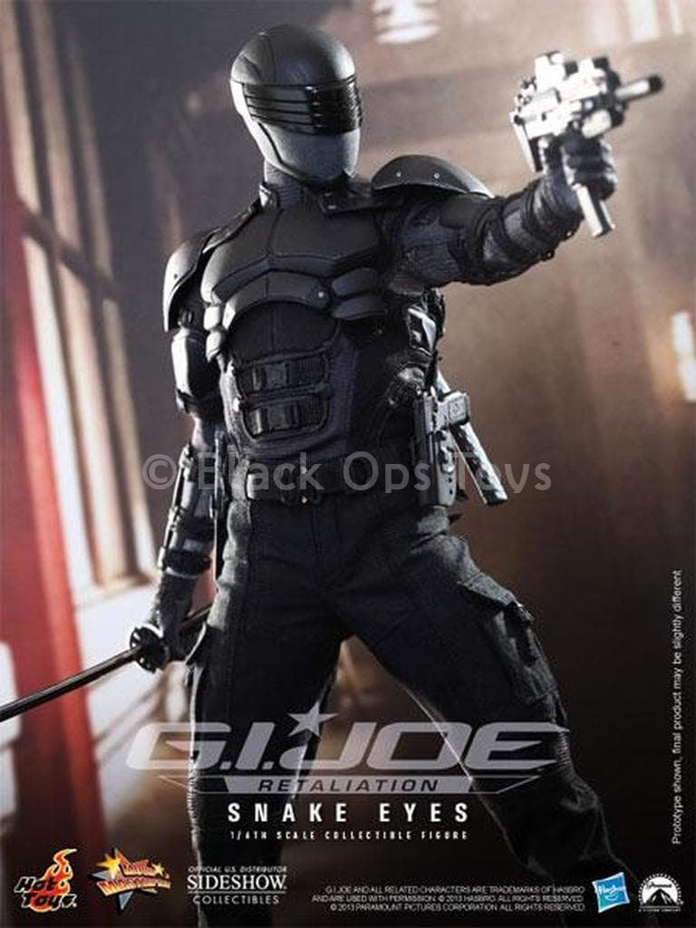 GI JOE - Snake Eyes - Head Sculpt
