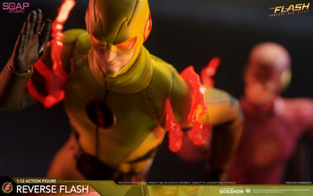 1/12 - The Flash - Reverse Flash - MINT IN  BOX