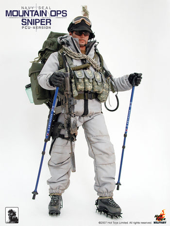 US Navy Seal Mountain Ops Sniper PCU Version - MINT IN BOX