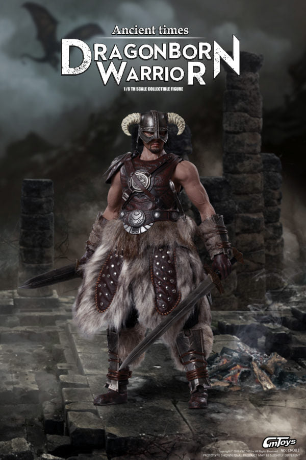 Dragonborn Warrior - Male Base Muscle Body
