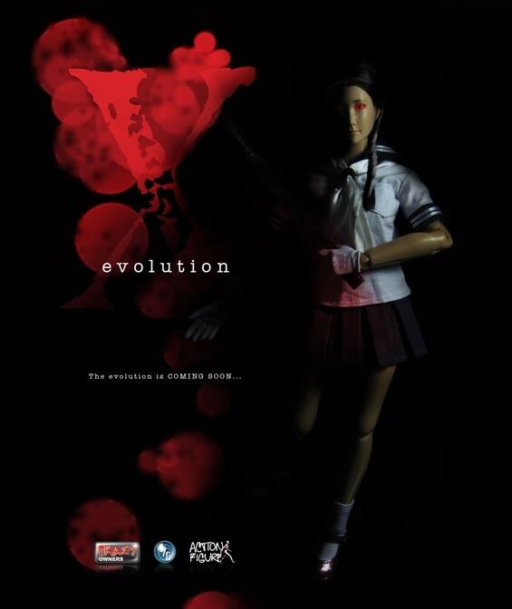 Blood Evolution - Female Schoolgirl Uniform Set