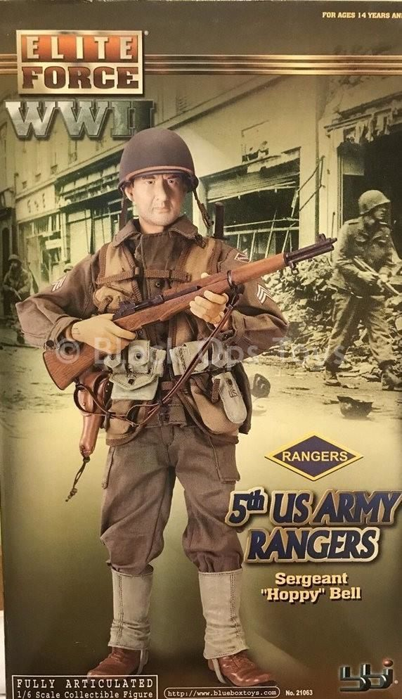 WWII - U S  Army Rangers - Green Shovel w/Cover