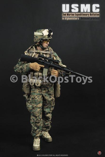 USMC 2nd Expeditionary Battalion - Male Head Sculpt