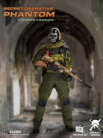 Secret Operative Phantom - Combo Pack - MINT IN BOX