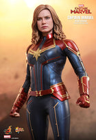Captain Marvel - Brown Leather Like Air Force Jacket