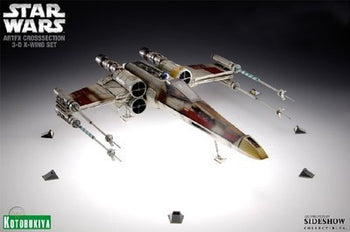 1/35 - Star Wars - X-Wing 3D Cross Section Set - MINT IN BOX