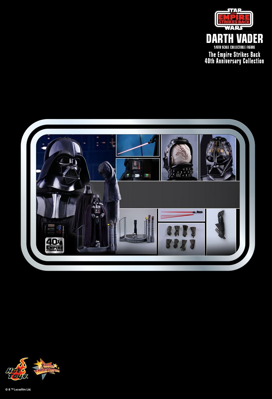 Star Wars: Episode V 40th Anniversary - Darth Vader - MINT IN BOX