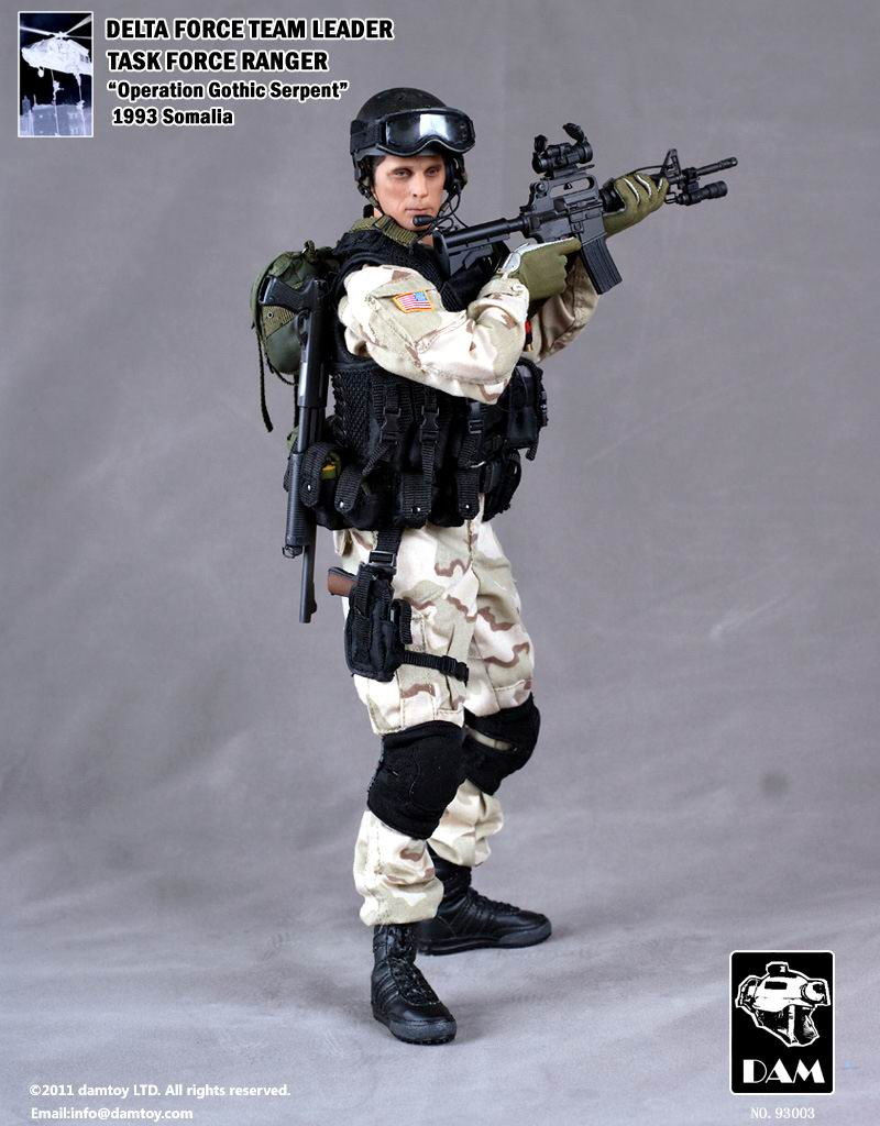 Ultra Rare- BHD Delta Force Team Leader - Mint in Box