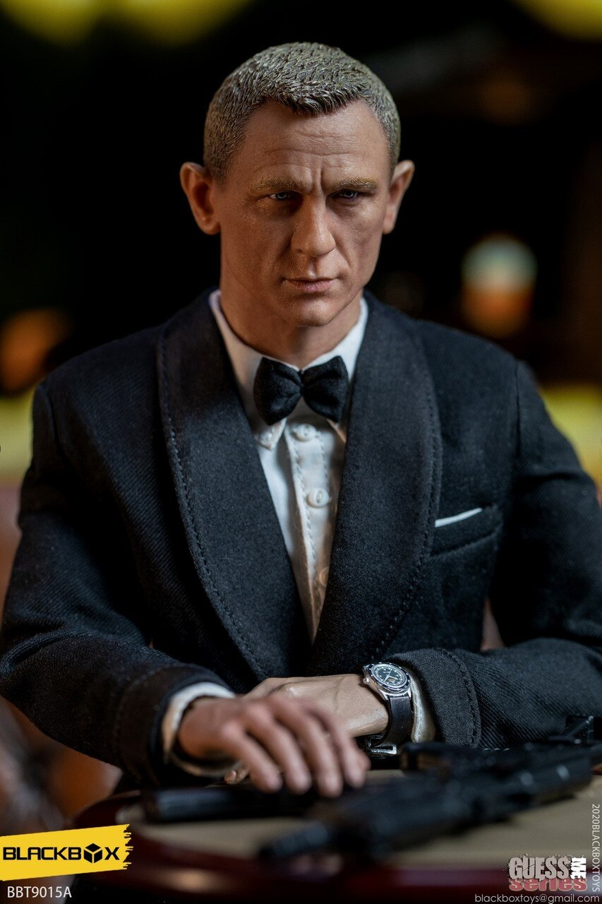 007 - No Time To Die - Male Head Sculpt