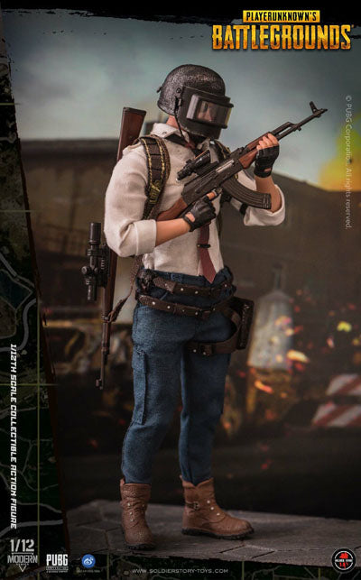 PREORDER - 1/12 - PUBG - Player Unknown Dual Pack - MINT IN BOX