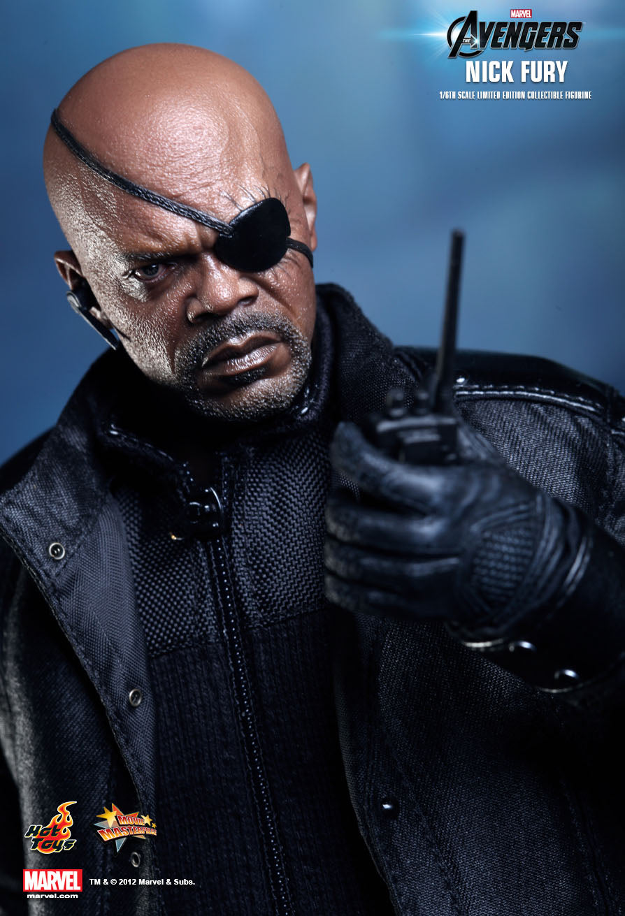 Avengers - Nick Fury - Black Gloved Hand Set