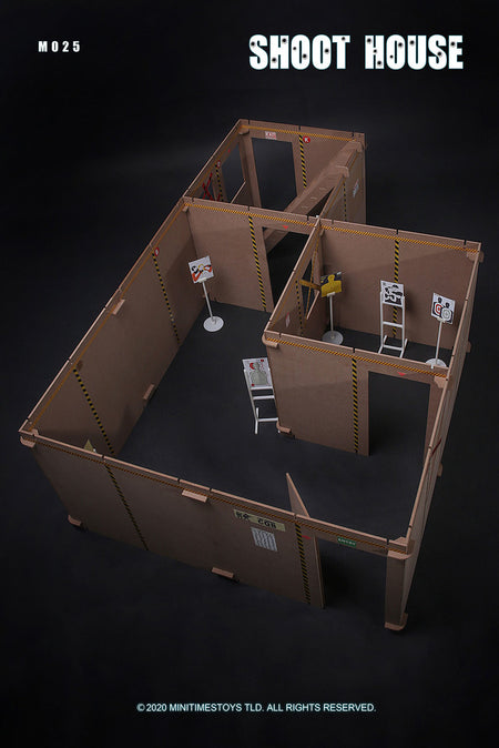 PREORDER - SWAT Shoot House Diorama - MINT IN BOX