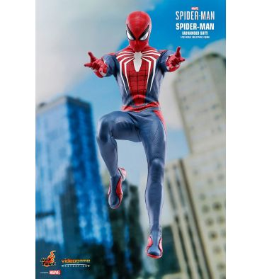 Spiderman - Advanced Suit - White Hand Pegs