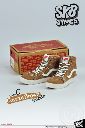 SK8 Shoes - Coyote Brown (Foot Type) - MINT IN BOX