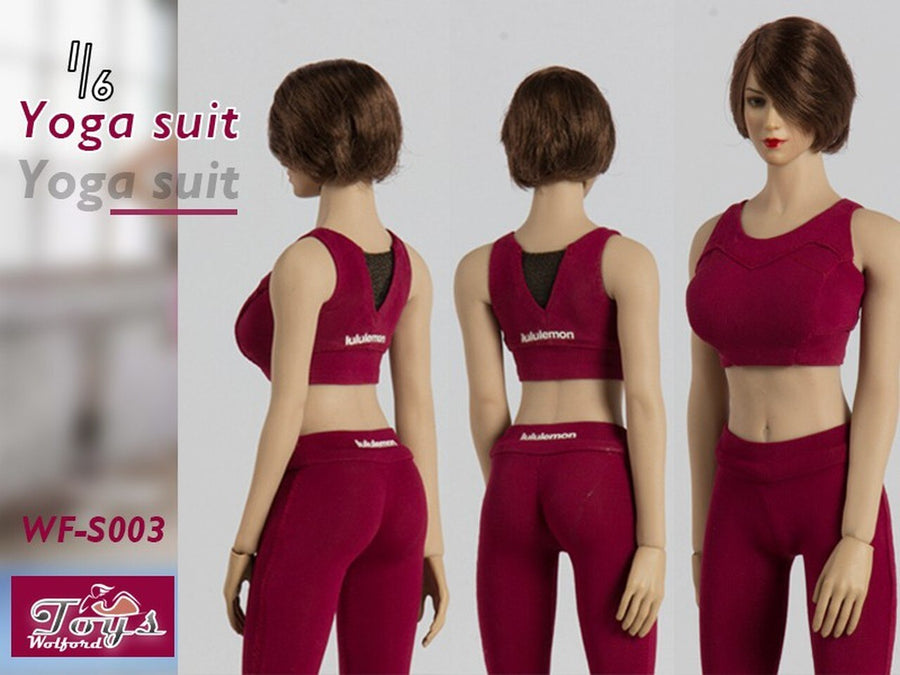 Female Contrast Yoga Suit 3-Pack Set - MINT IN BOX