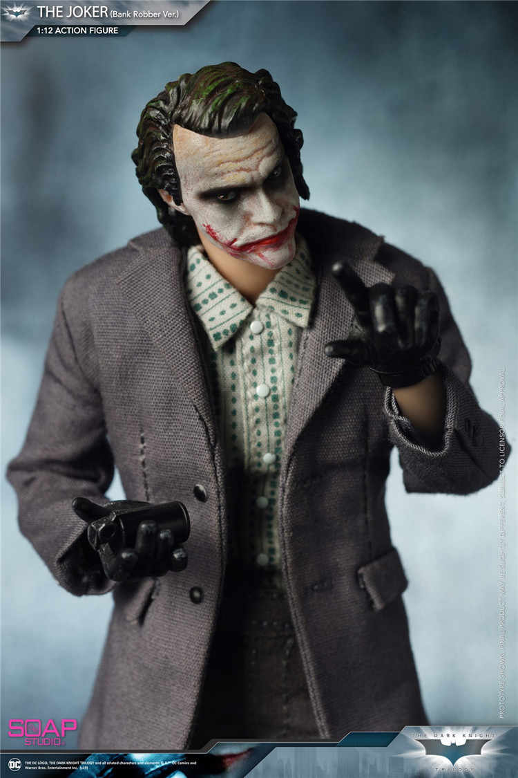 1/12 - The Joker Bank Robber - Clown Mask