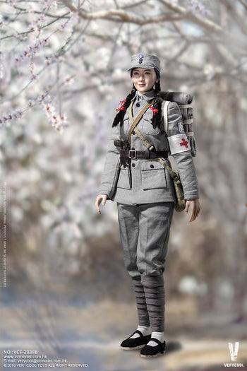 Female Medical Soldier - MINT IN BOX