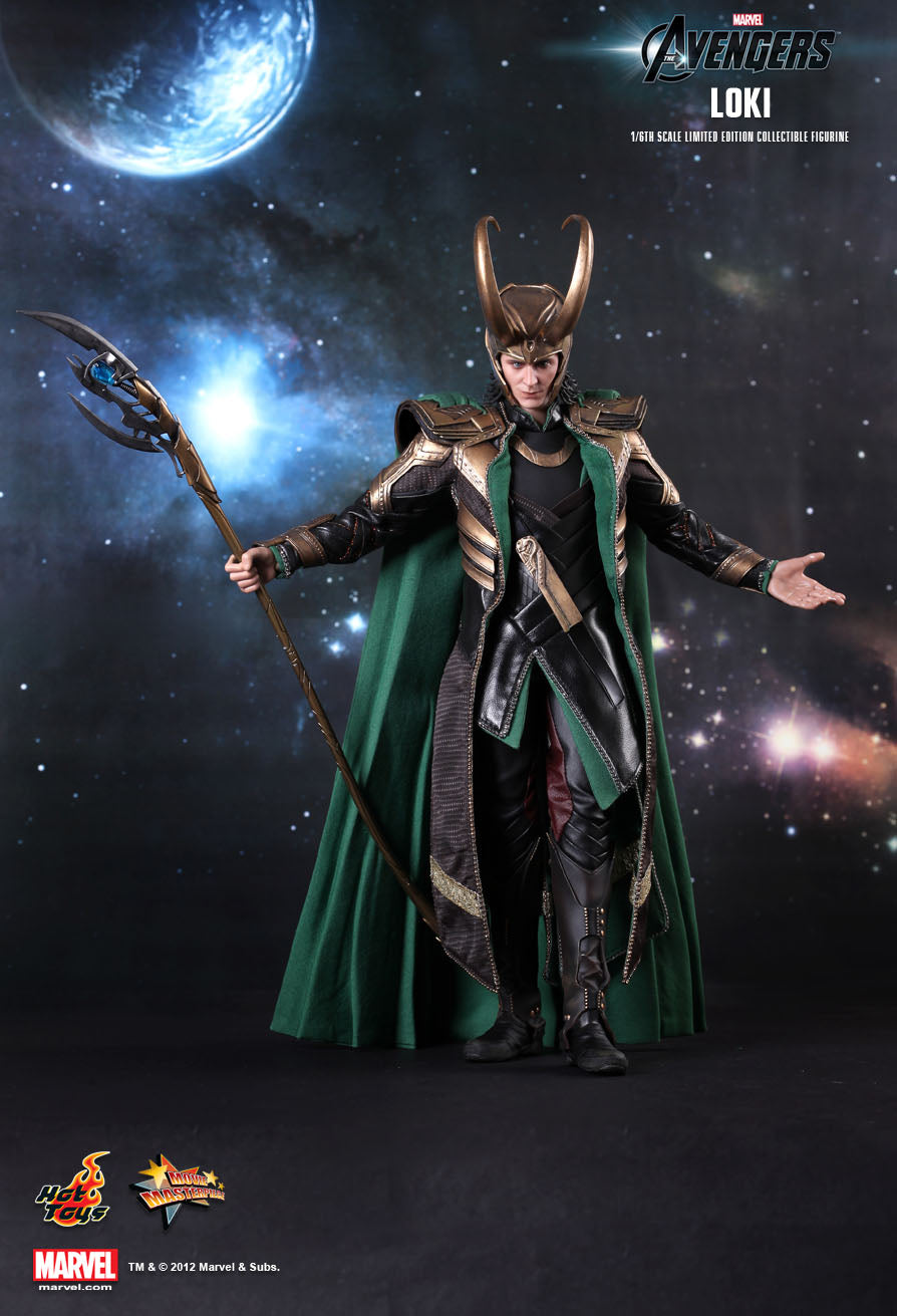 The Avengers - Loki - Black Leather-Like Pants