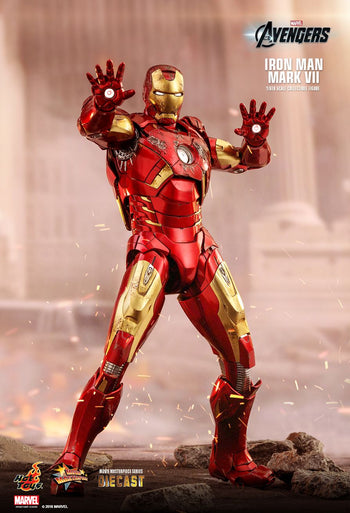 The Avengers - Diecast Iron Man Mark VII Spec. Ed. - MINT IN BOX