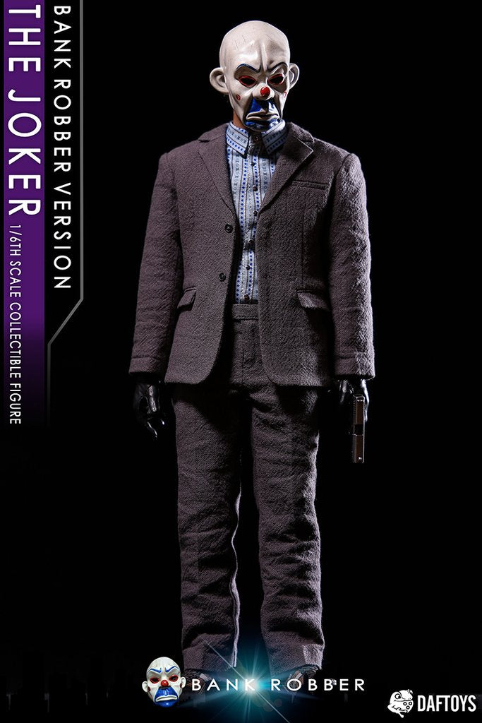 The Joker Bank Robber Ver. - Male Clown Head Sculpt