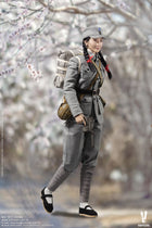 WWII - 18th Army - Medical Soldier - Female Head Sculpt Type 1