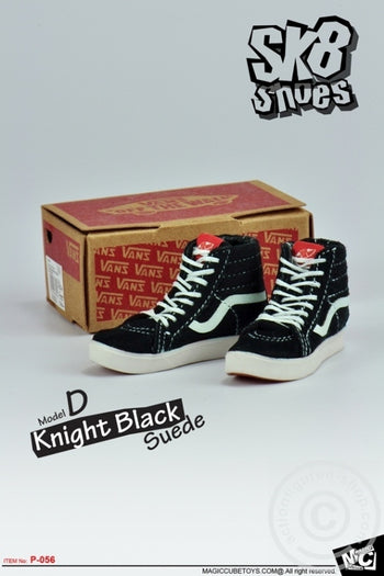 SK8 Shoes - Black (Foot Type) - MINT IN BOX