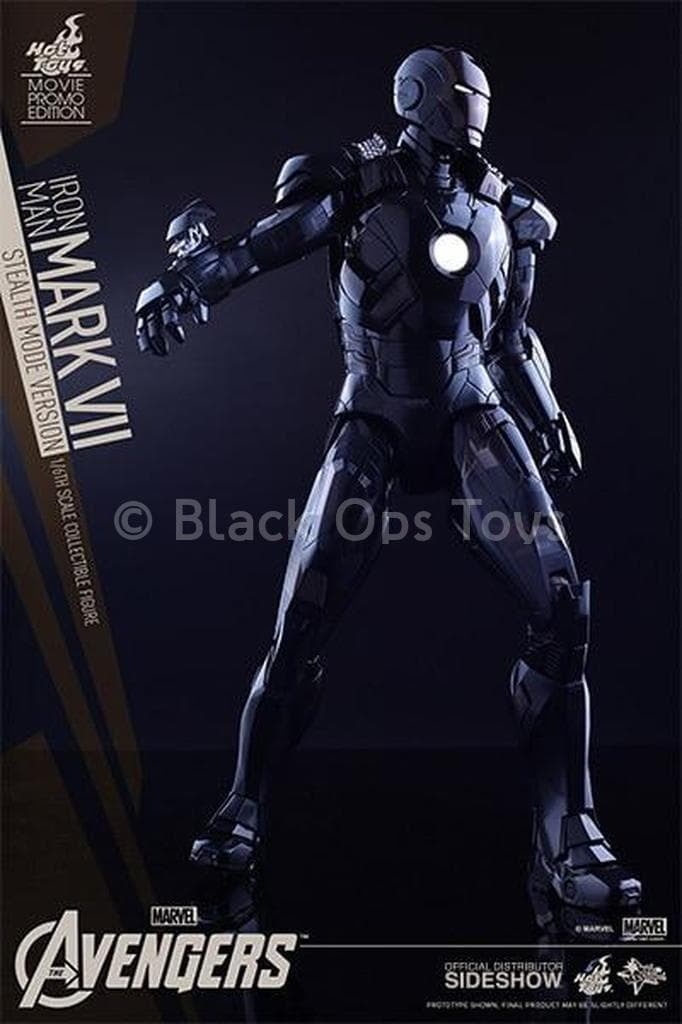 Iron Man - Mark VII SMU Exclusive Stealth Mode - MINT IN BOX
