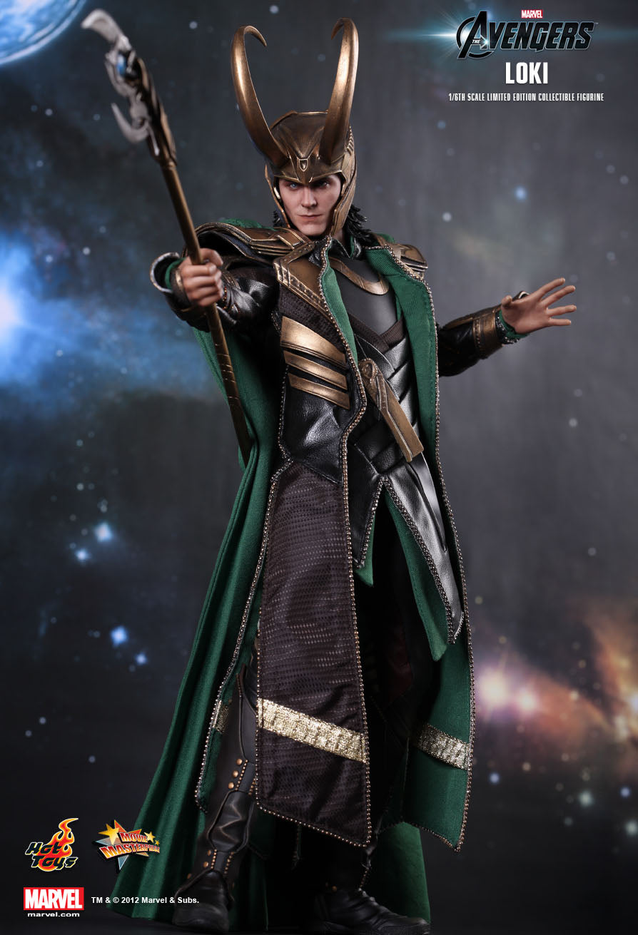 The Avengers - Loki - Male Hand Set w/Gauntlets