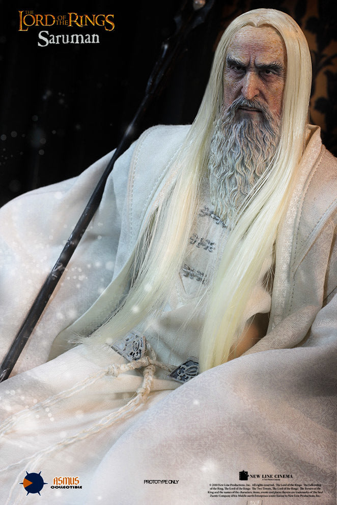 LOTR - Saruman the White - Hands w/Nails Set (x2) Type 1
