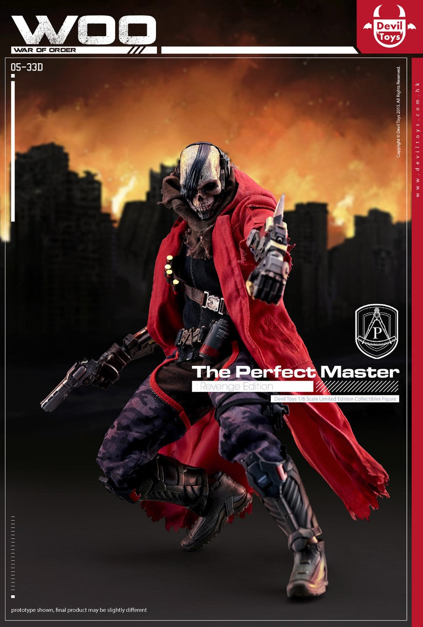 PREORDER - War of Order - The Perfect Master - Revenge Edition - MINT IN BOX