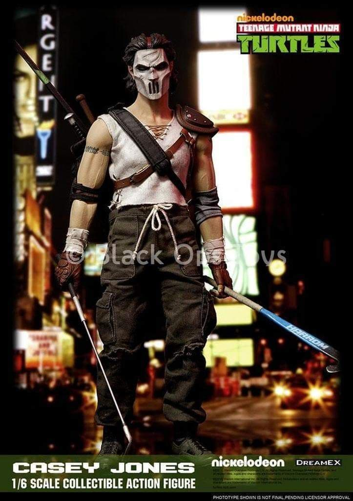 TMNT - Casey Jones - Male Base Body w/Tattoo Details