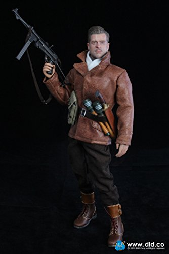 WWII - French Resistance - Male Base Body w/Head Sculpt