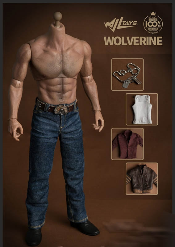 Steel Wolf Wolverine Origins Clothing Set - MINT IN BOX