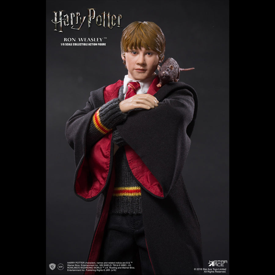 Harry Potter - Ron Weasley - Teenage Male Head Sculpt