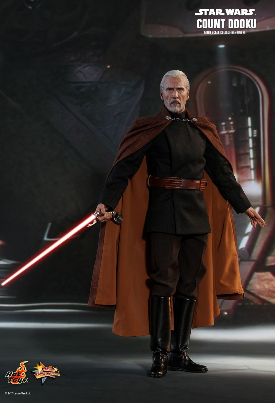 Star Wars - Count Dooku - Hologram Figure Of Darth Sidious