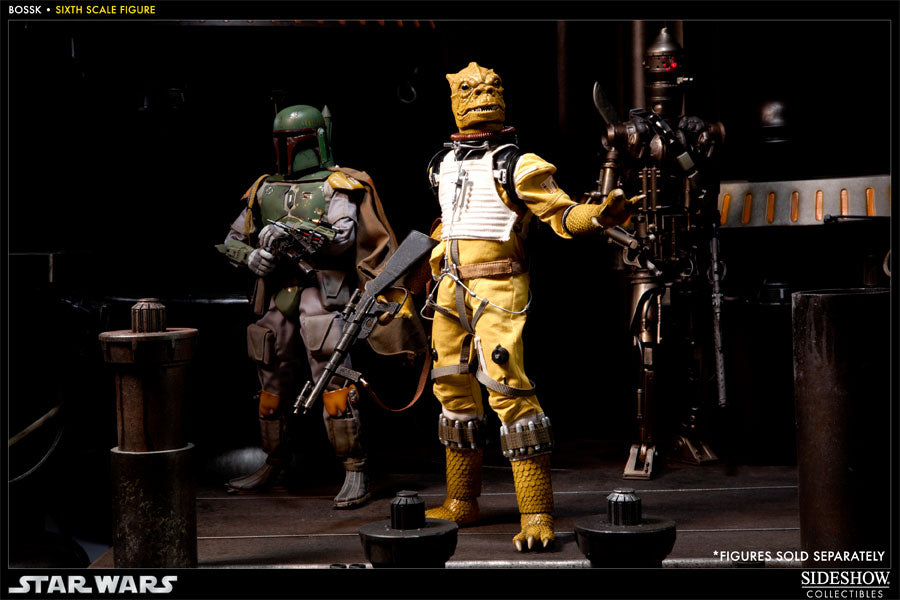 Star Wars Bounty Hunter Bossk Mint In Box