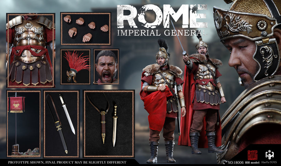 Roman Imperial General - Red Scarf