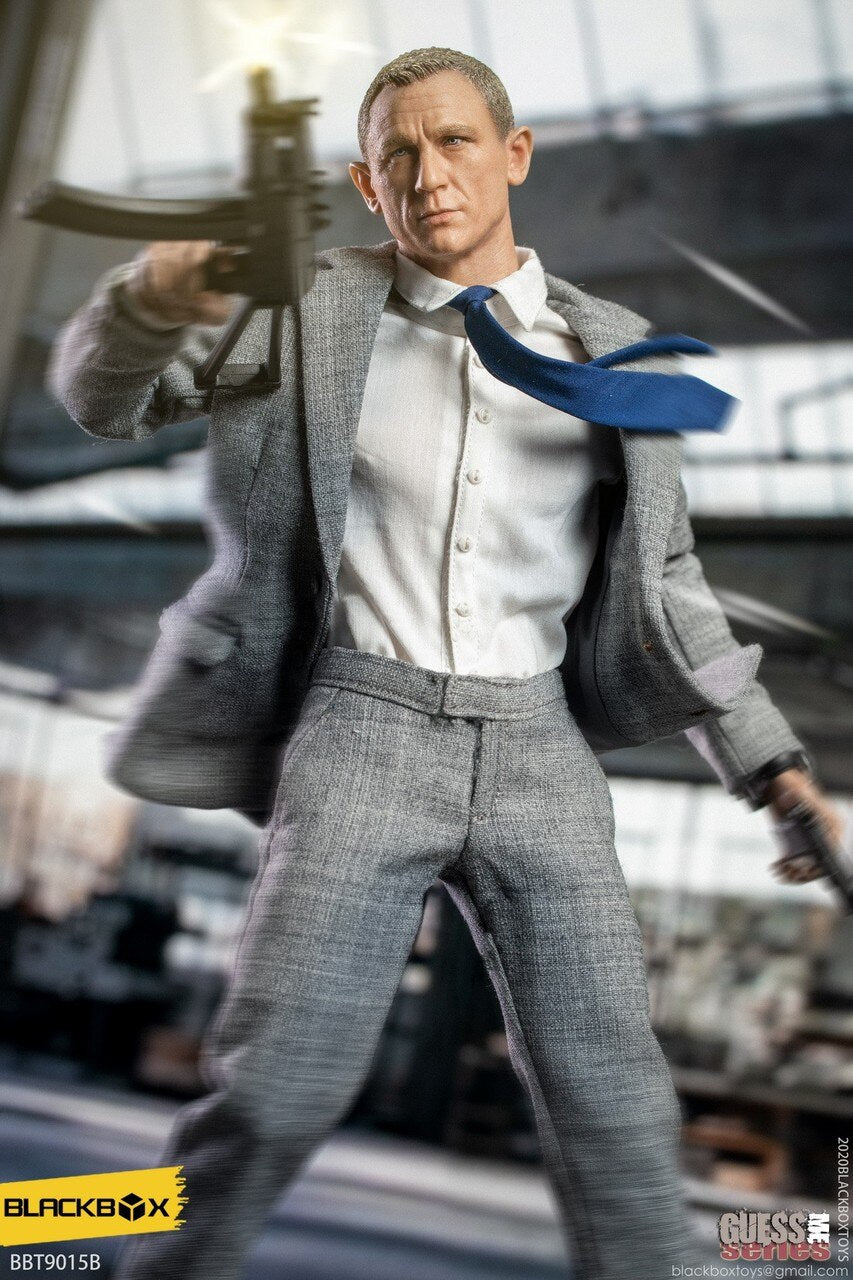 007 - No Time To Die - Grey Suit Version - MINT IN BOX