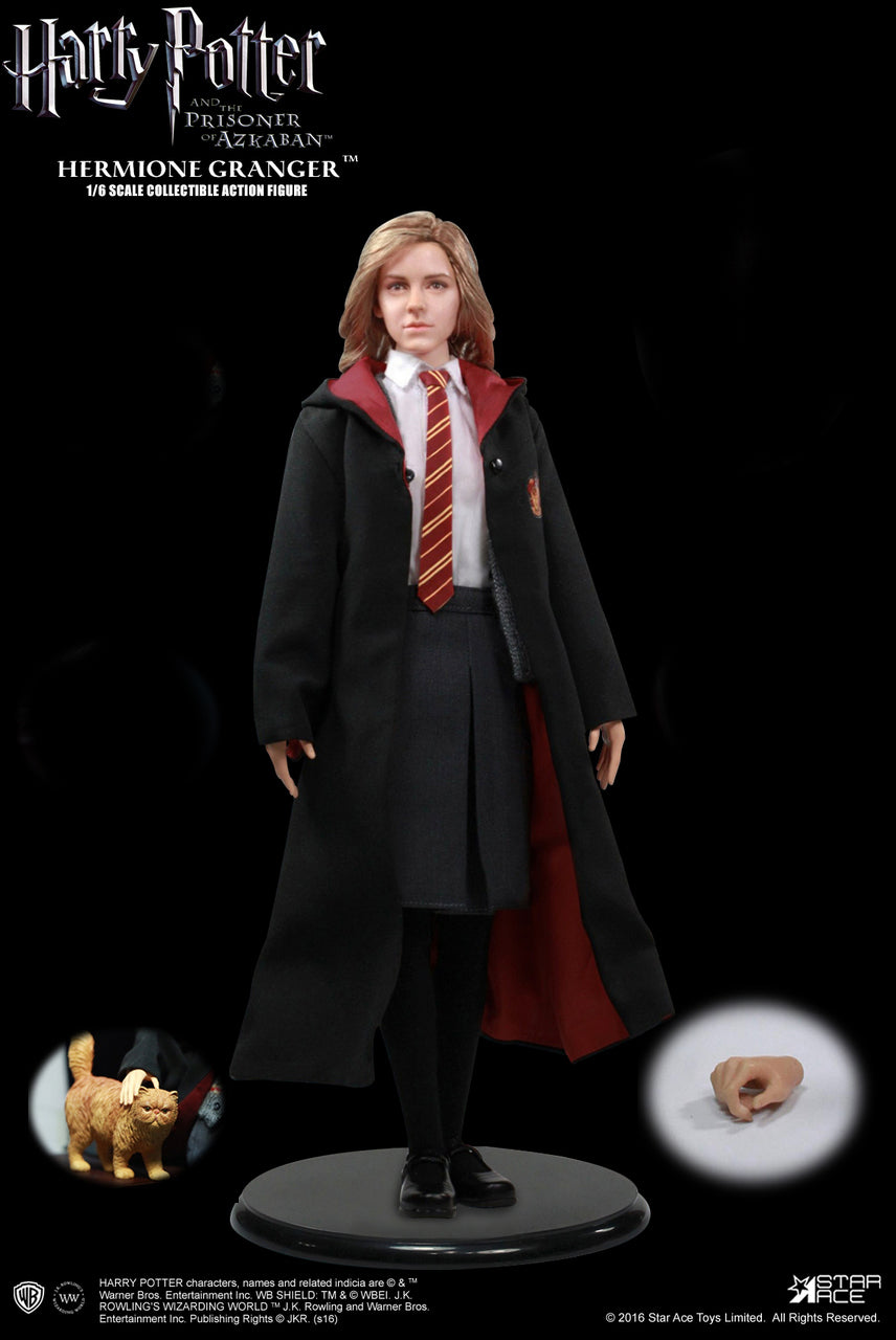 Harry Potter - Hermoine Granger - Teenage Sized Black & Red Robe