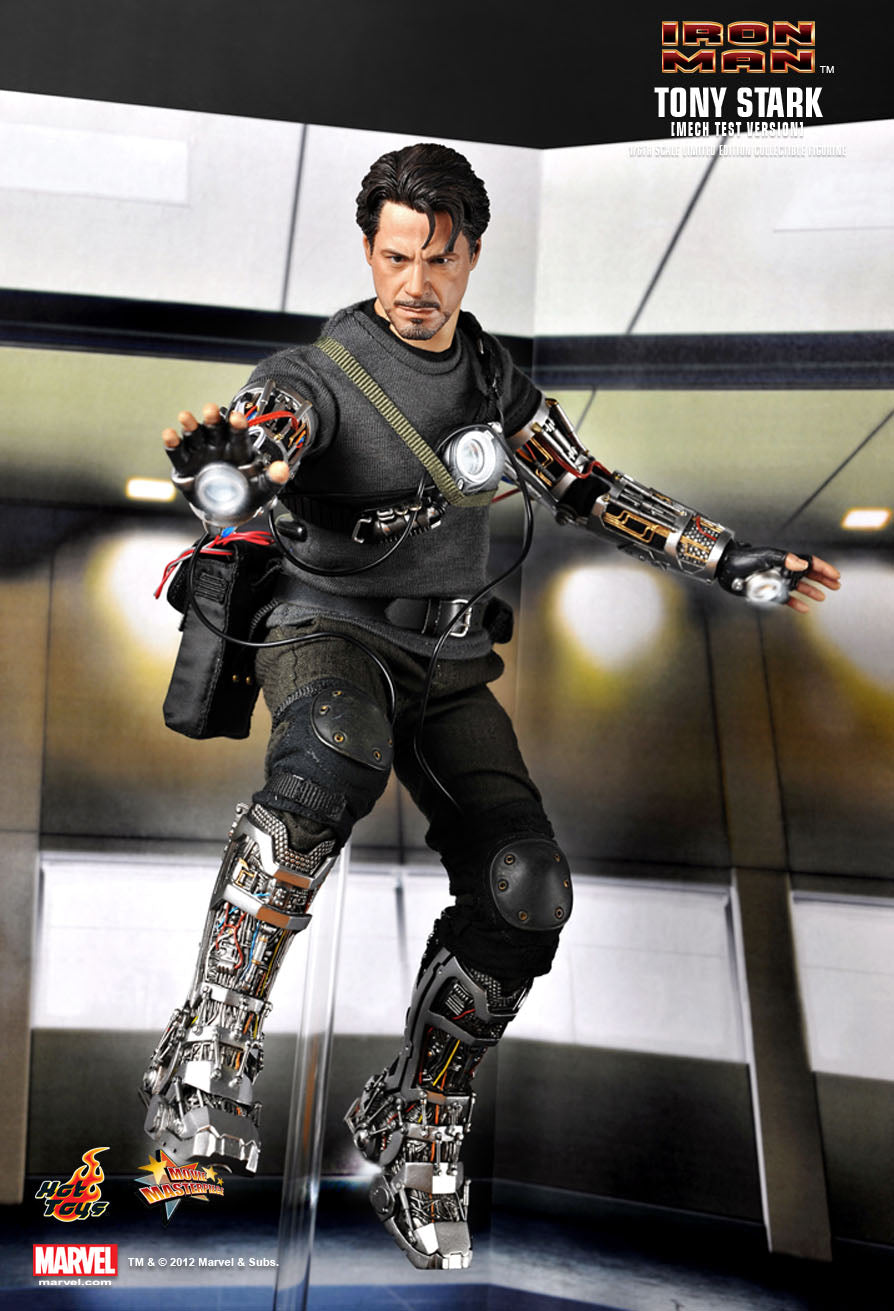 Iron Man - Mech Test  - Black Knee Pads