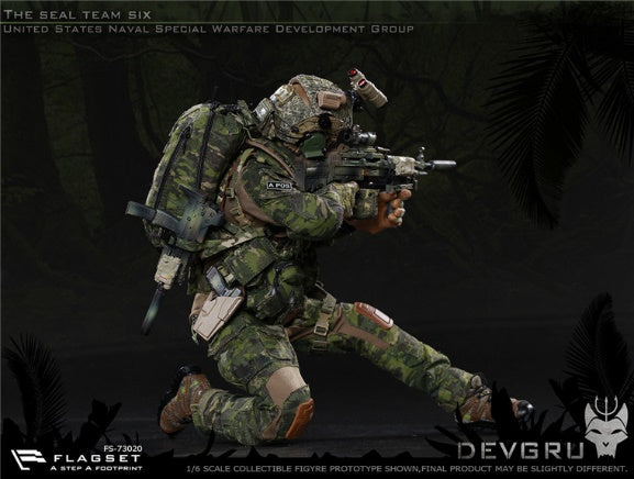 Seal Team 6 DEVGRU - Tropical Multicam Helmet Set