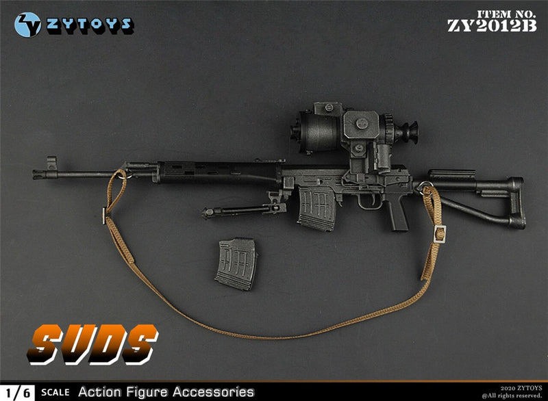 Dragunov SVDS Sniper Rifle w/Thermal Rifle Scope - MINT IN BOX
