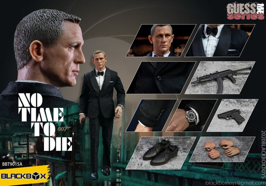 007 - No Time To Die - Black Suit Version - MINT IN BOX