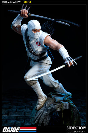 GI JOE - Storm Shadow Polystone Statue - MINT IN BOX